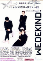 Wedekind  at Club Metropolitain - LIVE!
